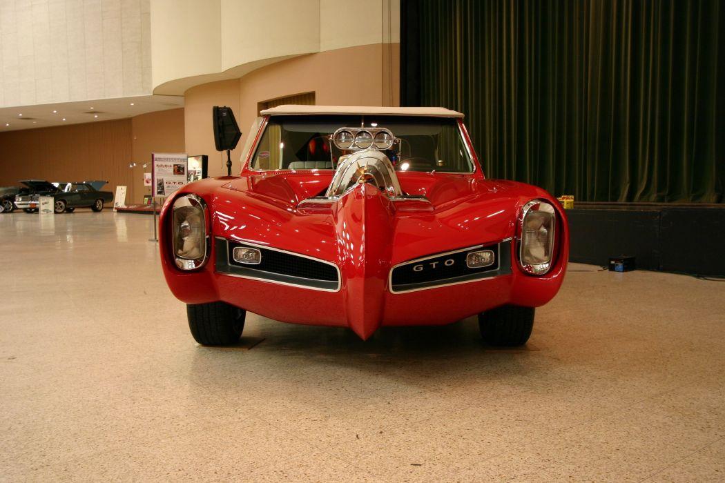 Pontiac GTO MonkeeMobile hot rod rods custom television series classic wallpaper