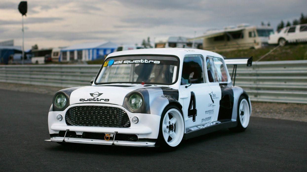 cars Quattro Mini wallpaper