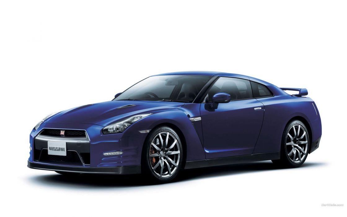 cars simple background Nissan GT-R R35 wallpaper