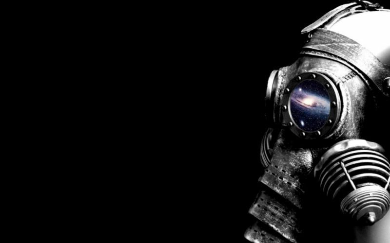 gas masks wallpaper