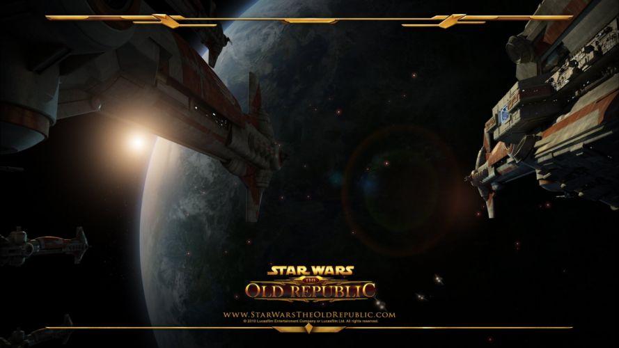Star Wars video games republic old wallpaper