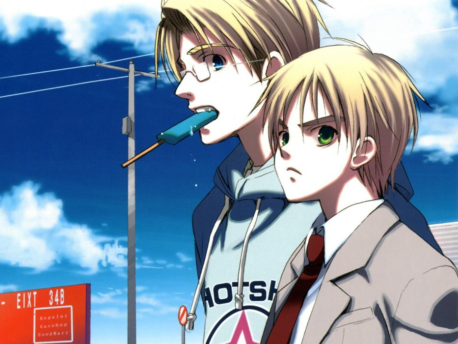 England USA Axis Powers Hetalia wallpaper