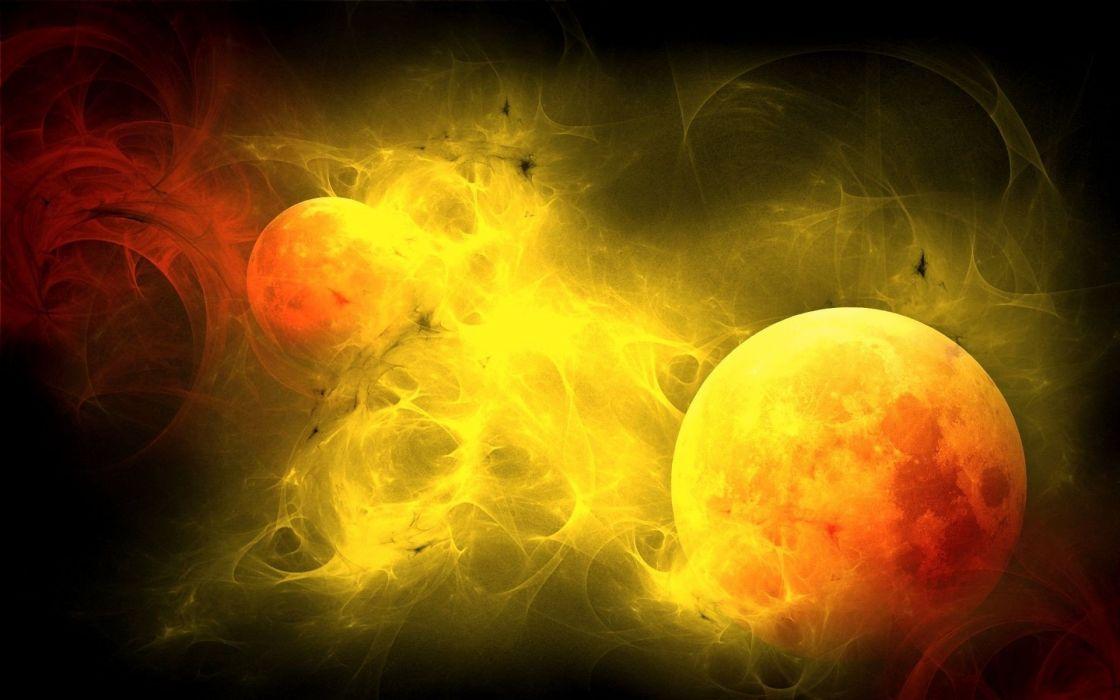 Sun stars wallpaper