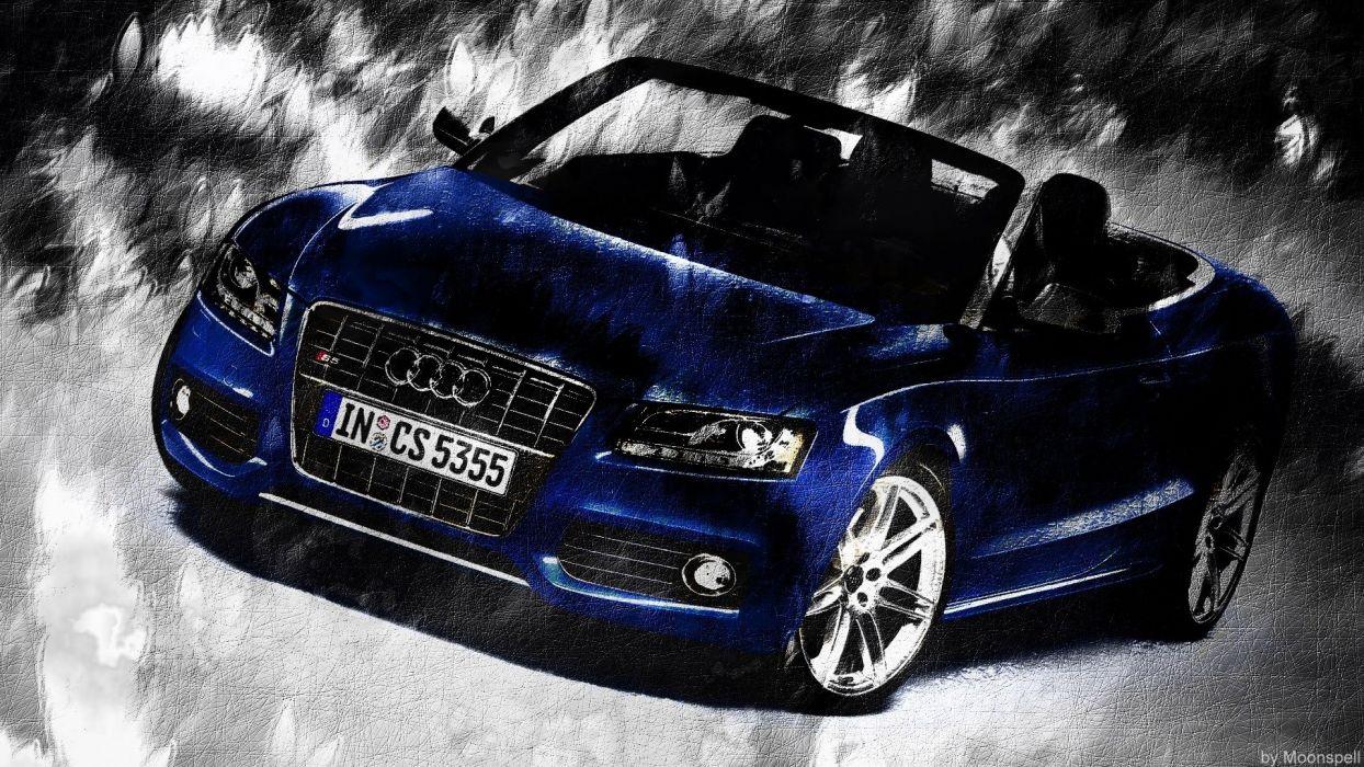 cars engines Audi Audi S5 automobile Luxury Sport Car Audi S5 Cabrio Audi S5 Convertible wallpaper