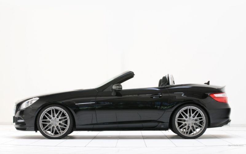 cars Brabus Mercedes-Benz Mercedes-Benz SLK-Class wallpaper