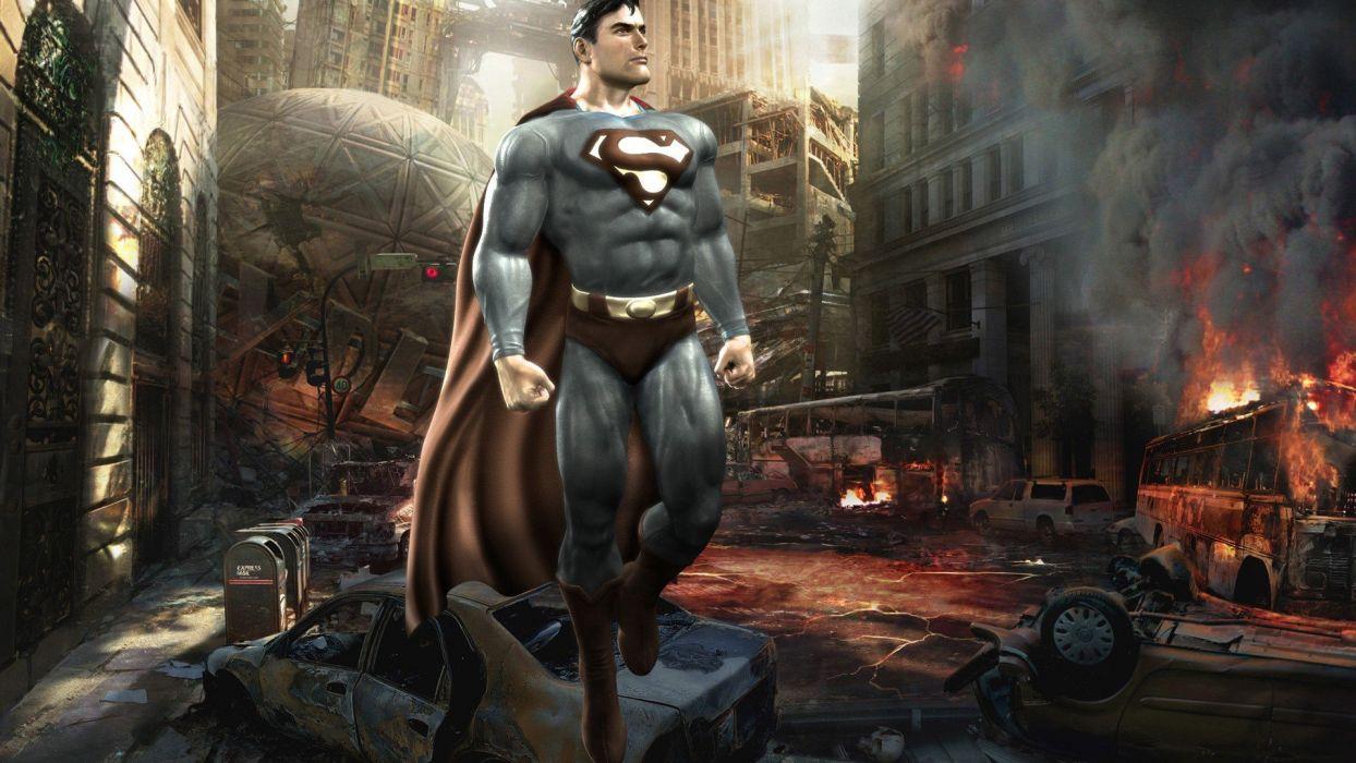 Superman artwork wallpaper
