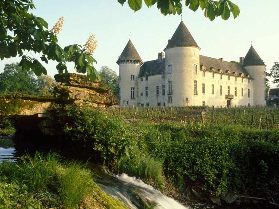 France castle wallpaper