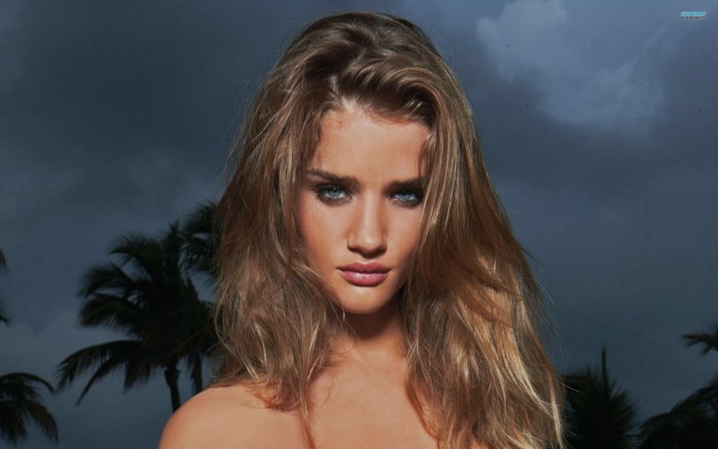 brunettes women actress Hollywood Rosie Huntington-Whiteley wallpaper