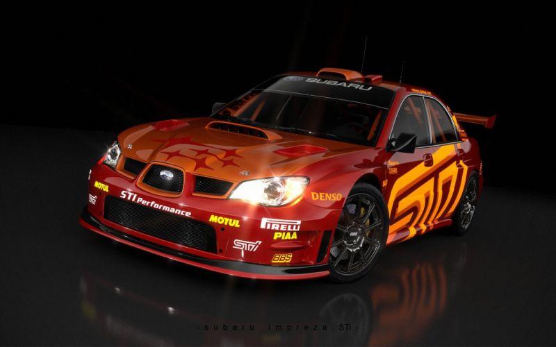 cars rally Subaru vehicles Subaru Impreza WRX Subaru Impreza WRX STI wallpaper