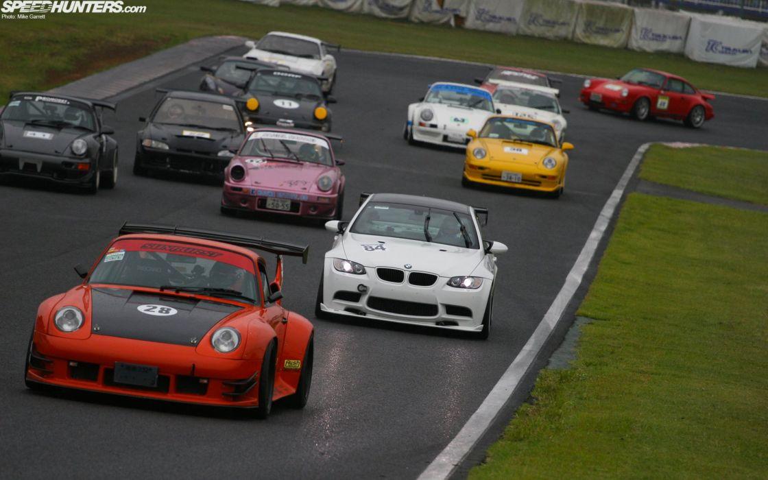cars race tracks wallpaper