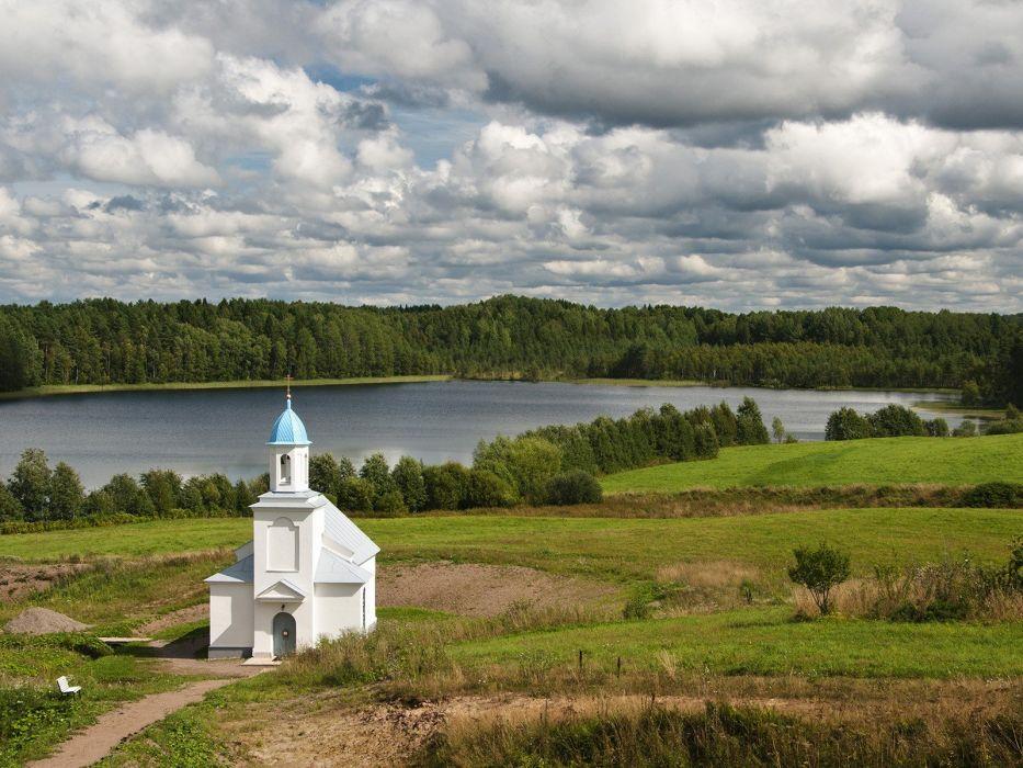 Russia monastery region wallpaper