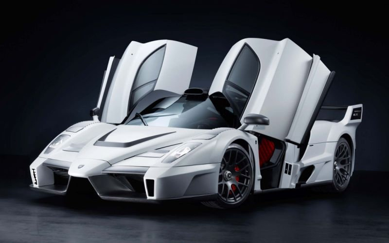 cars vehicles Ferrari Enzo white cars wallpaper