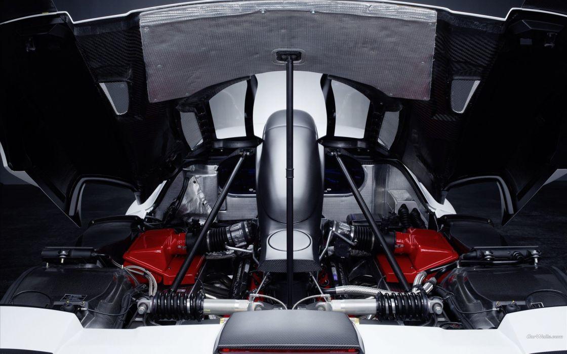 cars engines vehicles Ferrari Enzo Gemballa MIG-U1 wallpaper