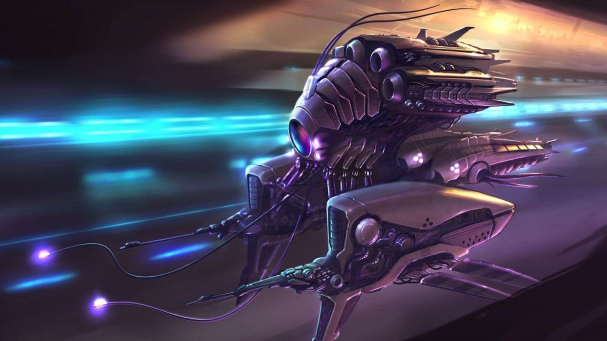 spaceships wallpaper