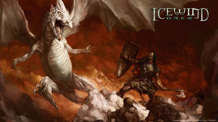 dragons Icewind Dale wallpaper