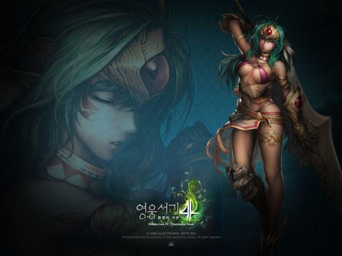 video games anime wallpaper