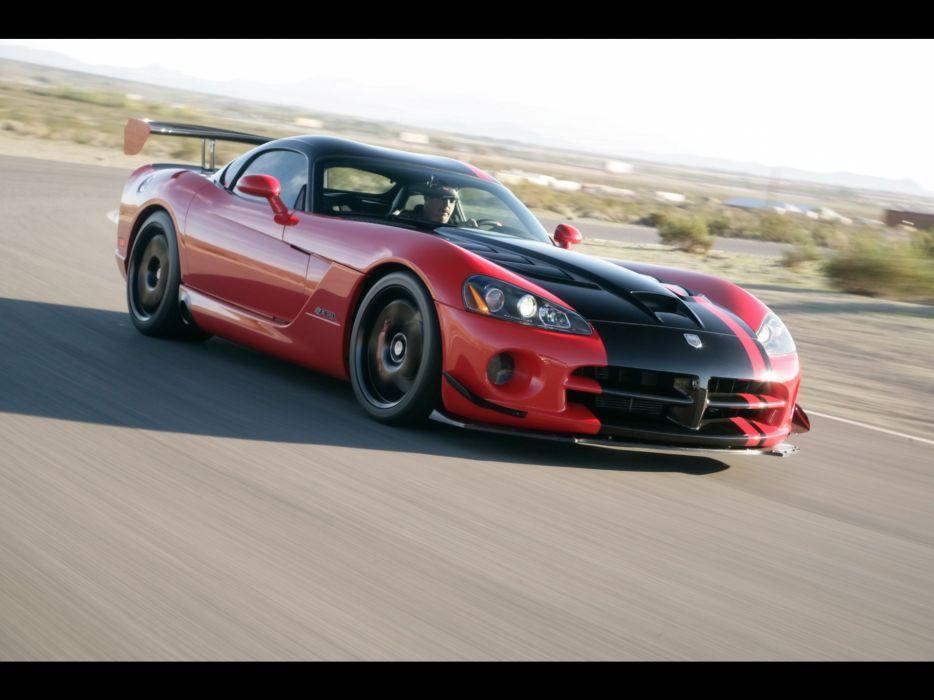 front Dodge Viper ACR SRT10 wallpaper