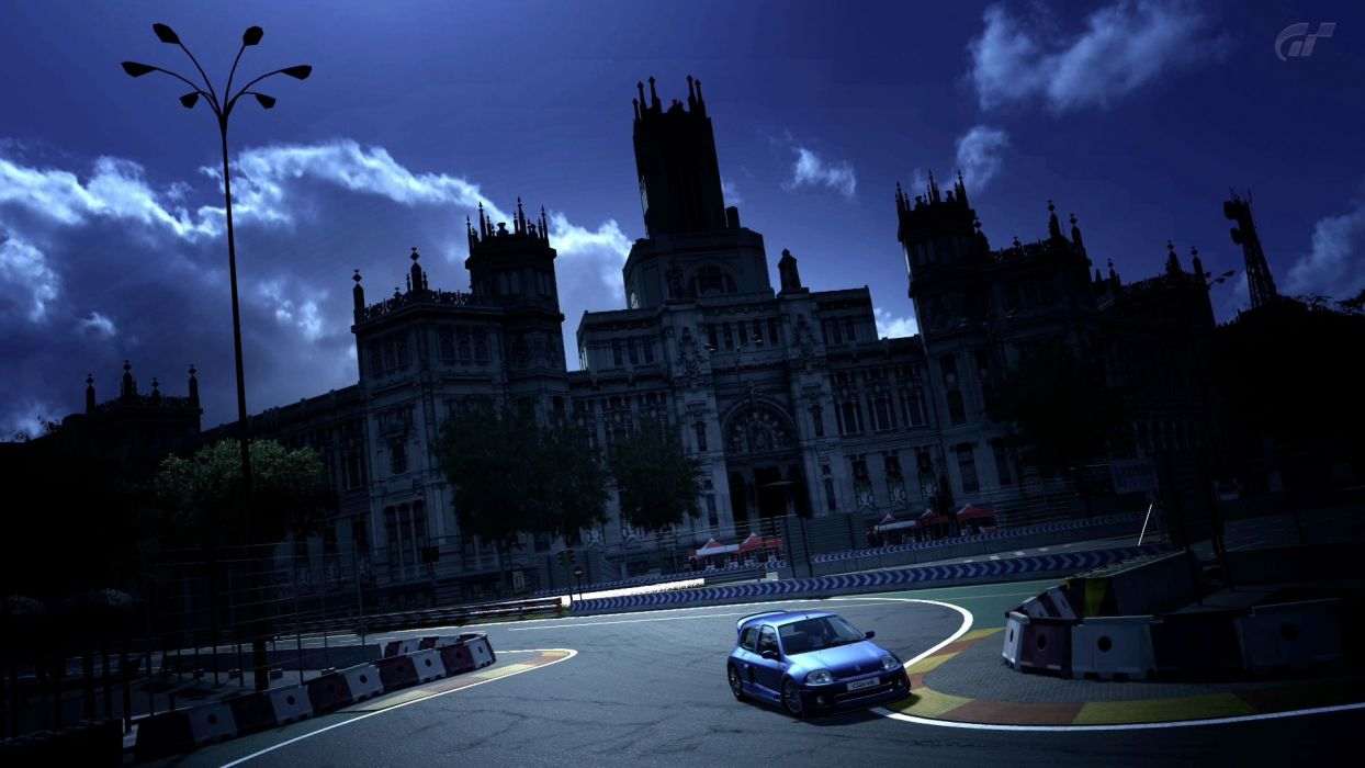 video games cars madrid vehicles Renault Clio Gran Turismo 5 Playstation 3 wallpaper