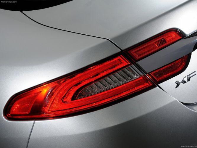 cars silver Jaguar XF wallpaper