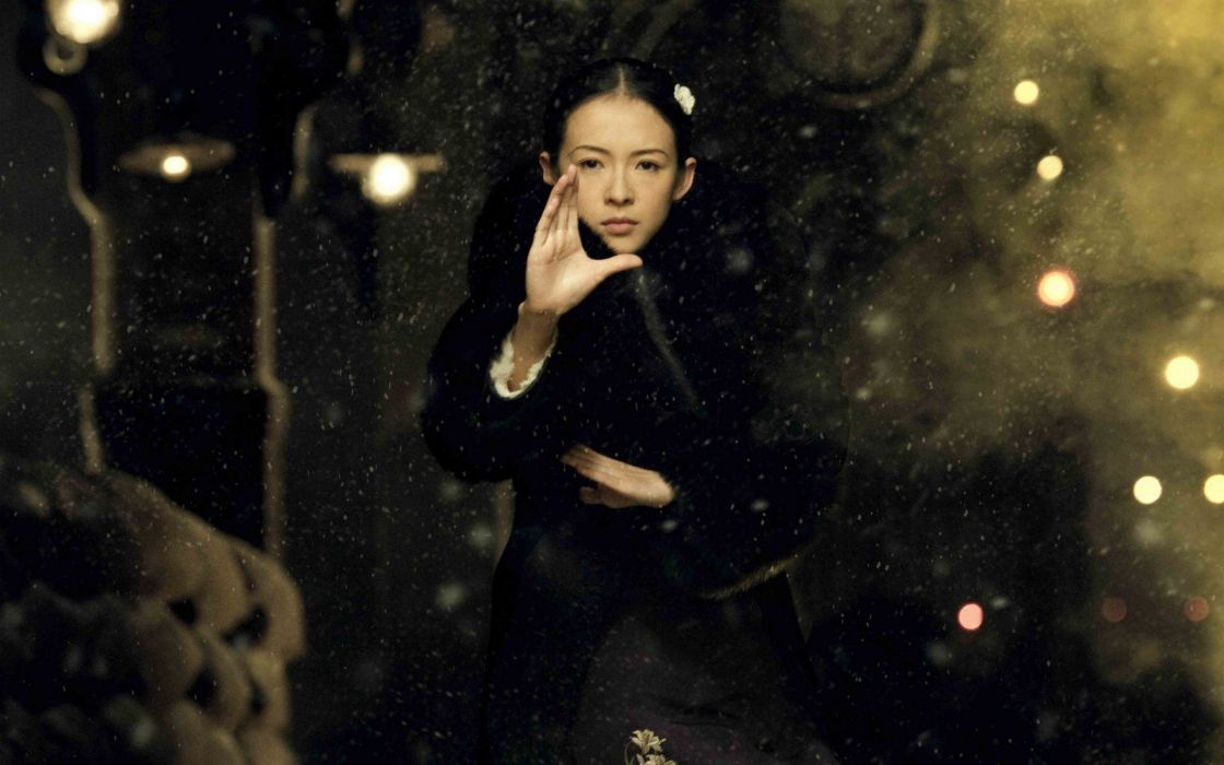 women Asians Ziyi Zhang The Grandmaster wallpaper