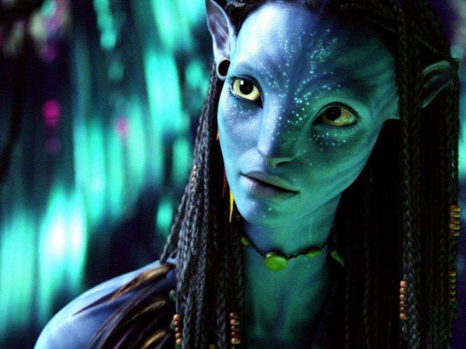 movies Avatar Zoe Saldana Hollywood James Cameron wallpaper