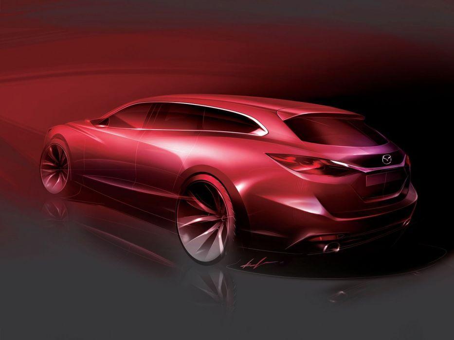 design Mazda sketches wallpaper