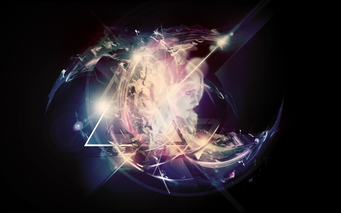 abstract Depthcore photo manipulation widescreen endeffect precurser wallpaper