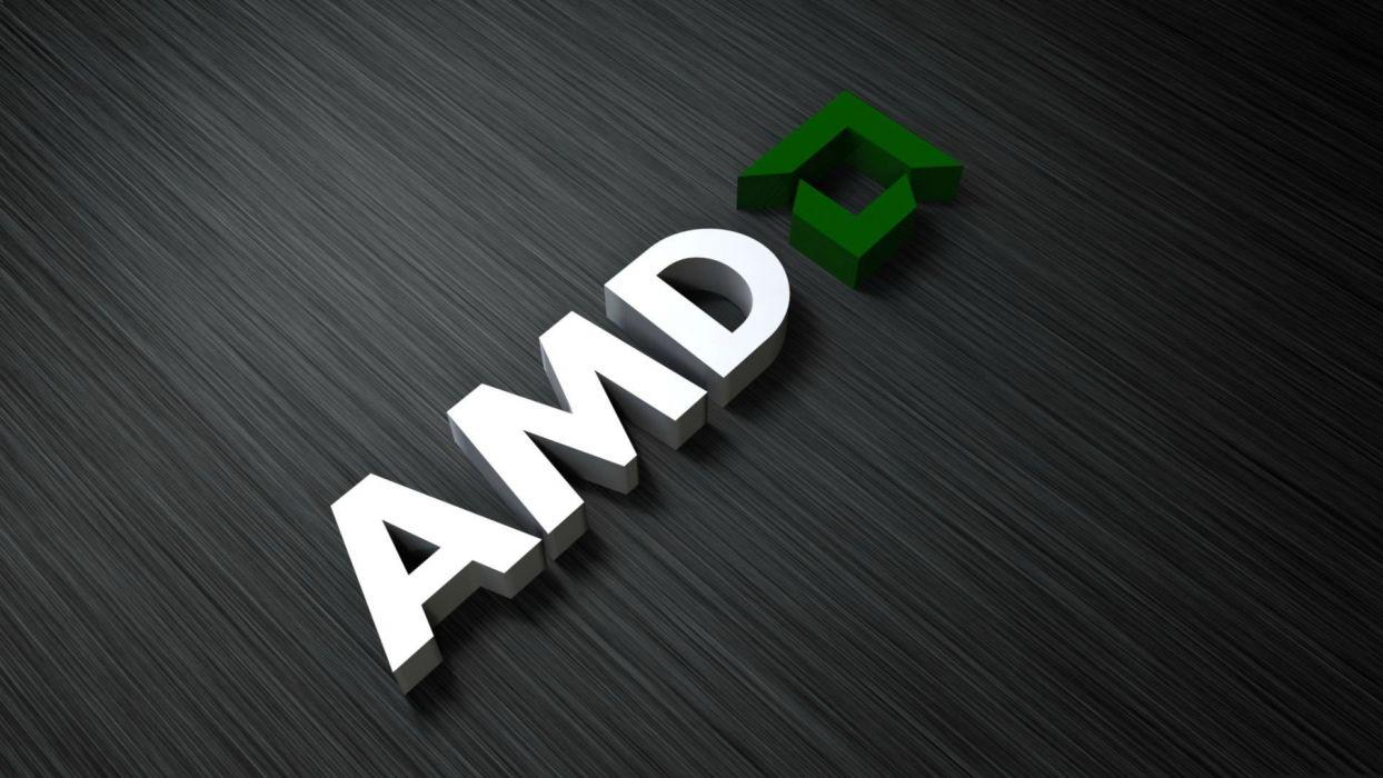 computer technology AMD wallpaper