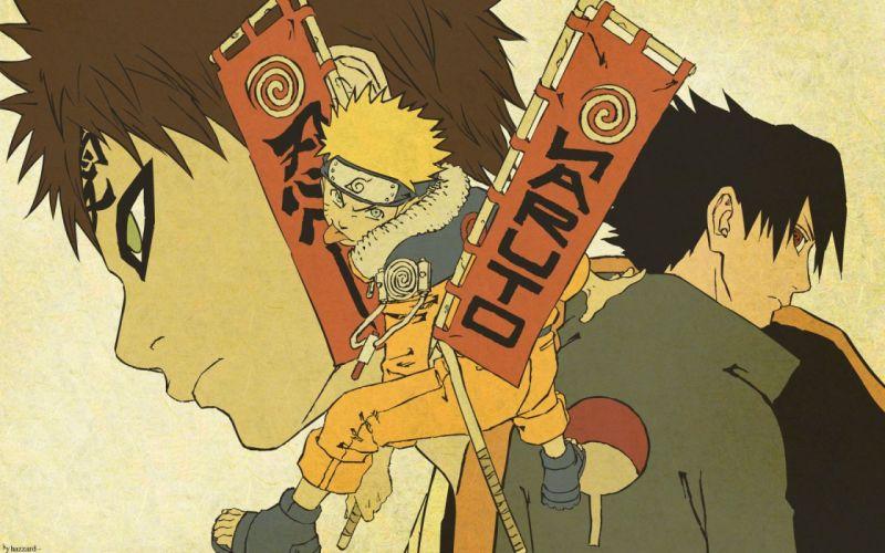 Uchiha Sasuke Naruto: Shippuden Gaara Uzumaki Naruto wallpaper