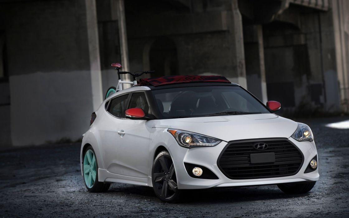 sports cars Hyundai Veloster wallpaper