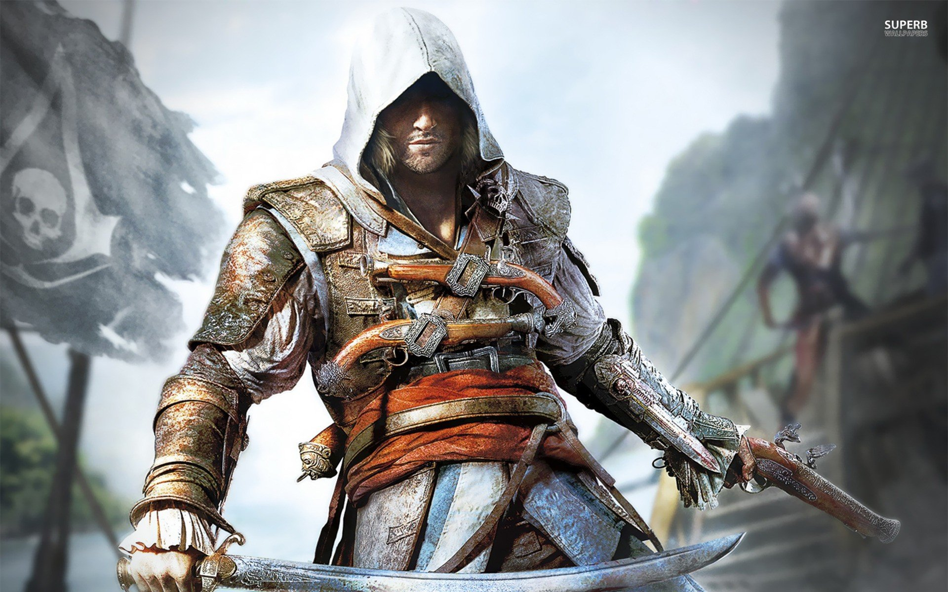 Video games Assassins Creed posters Black Flag screens ...