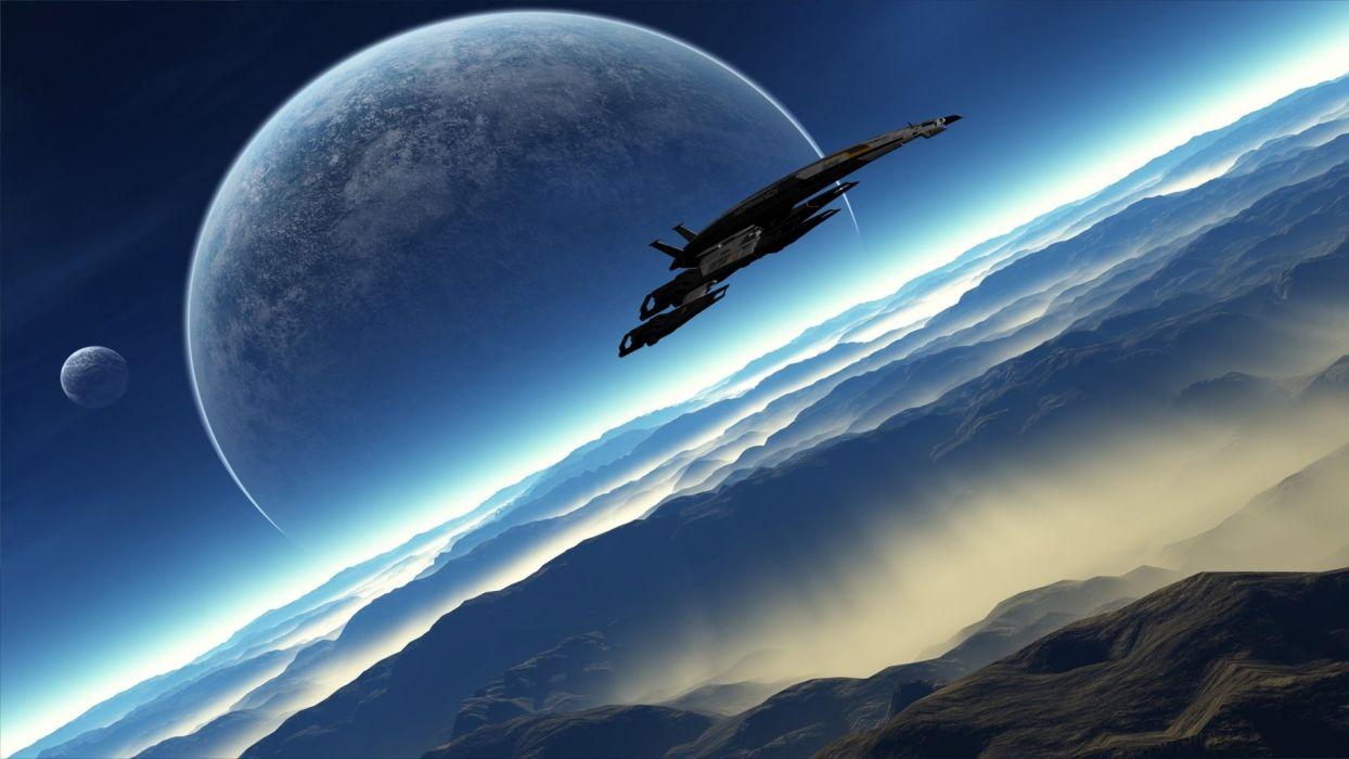 Normandy Mass Effect Mass Effect 2 wallpaper