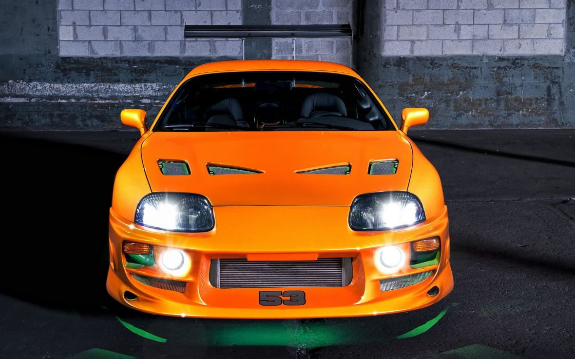 Fast And Furious Supra Wallpaper Iphone High Resolution Desktop