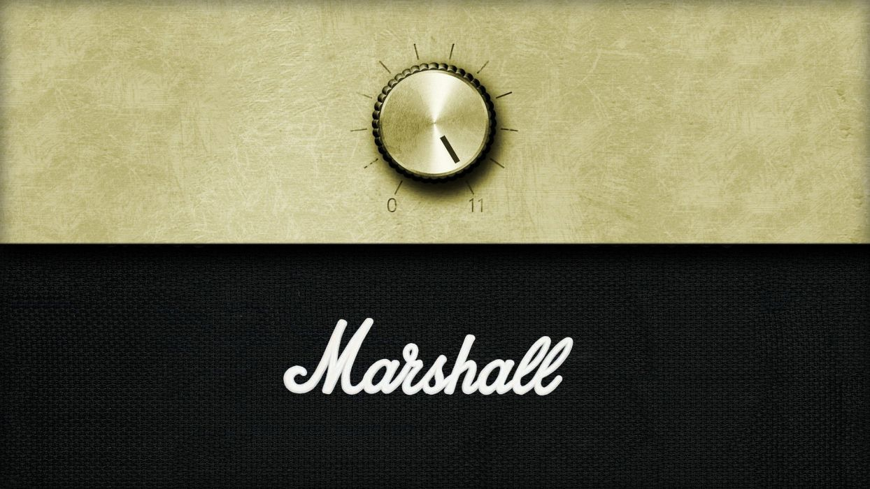 minimalistic music sound marshall amplifiers volume wallpaper
