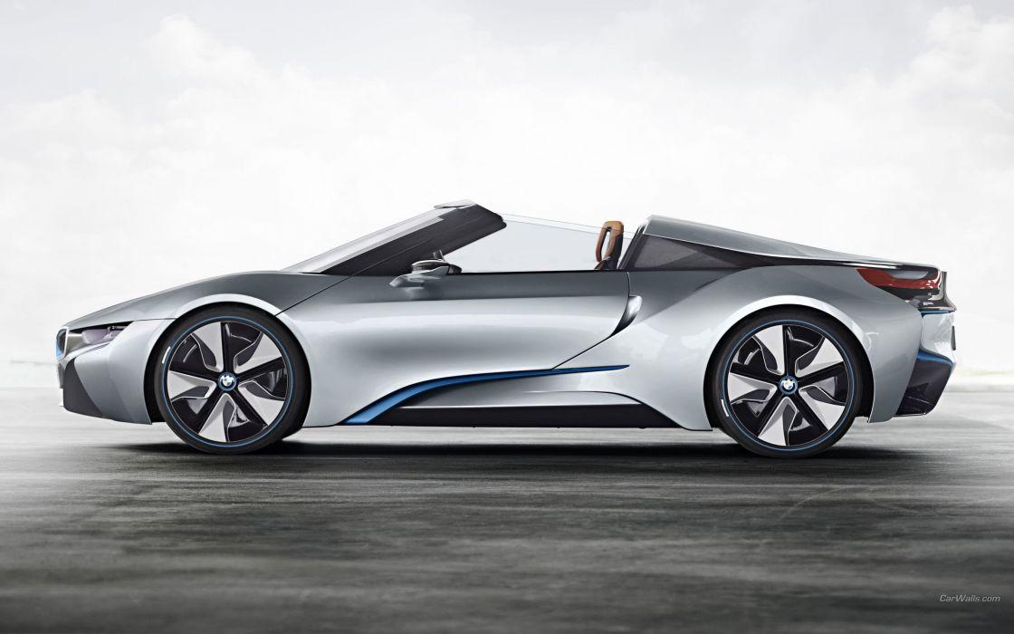 cars BMW i8 concept wallpaper
