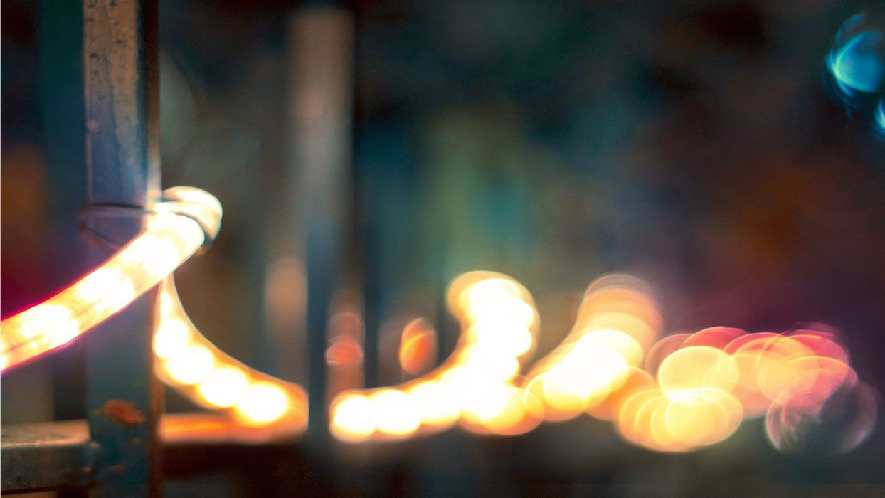 light bokeh macro depth of field blurred wallpaper