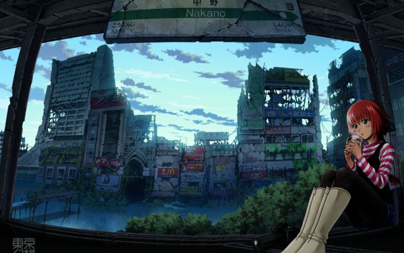 Darker Than Black Pavlichenko Suou TokyoGenso wallpaper