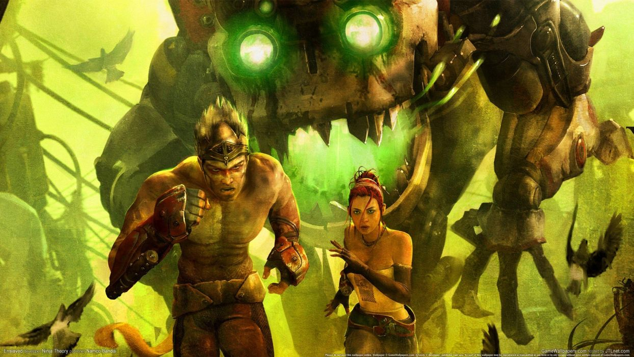 video games Enslaved: Odyssey to the West wallpaper