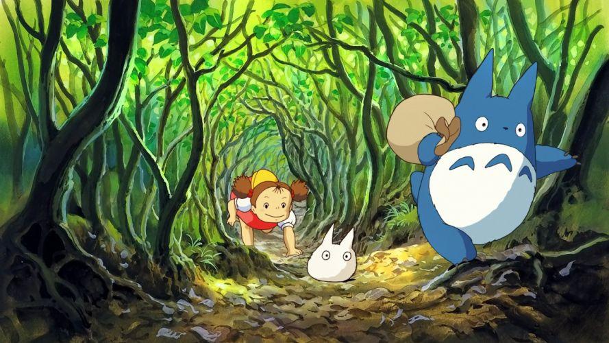 Totoro Studio Ghibli wallpaper