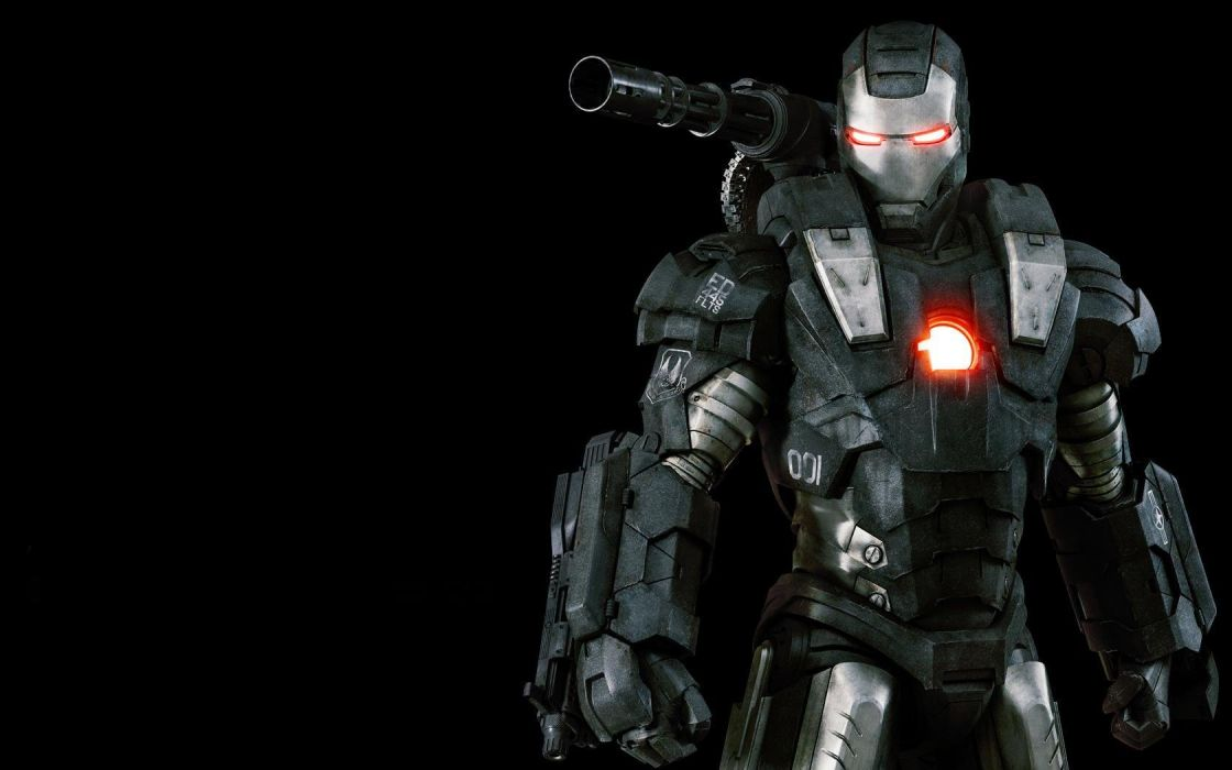 movies War Machine Iron Man 2 wallpaper