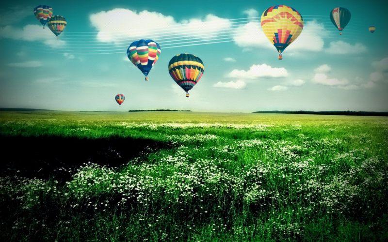 hot air balloons wallpaper