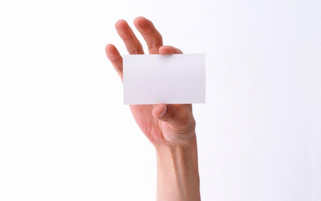hands card wallpaper