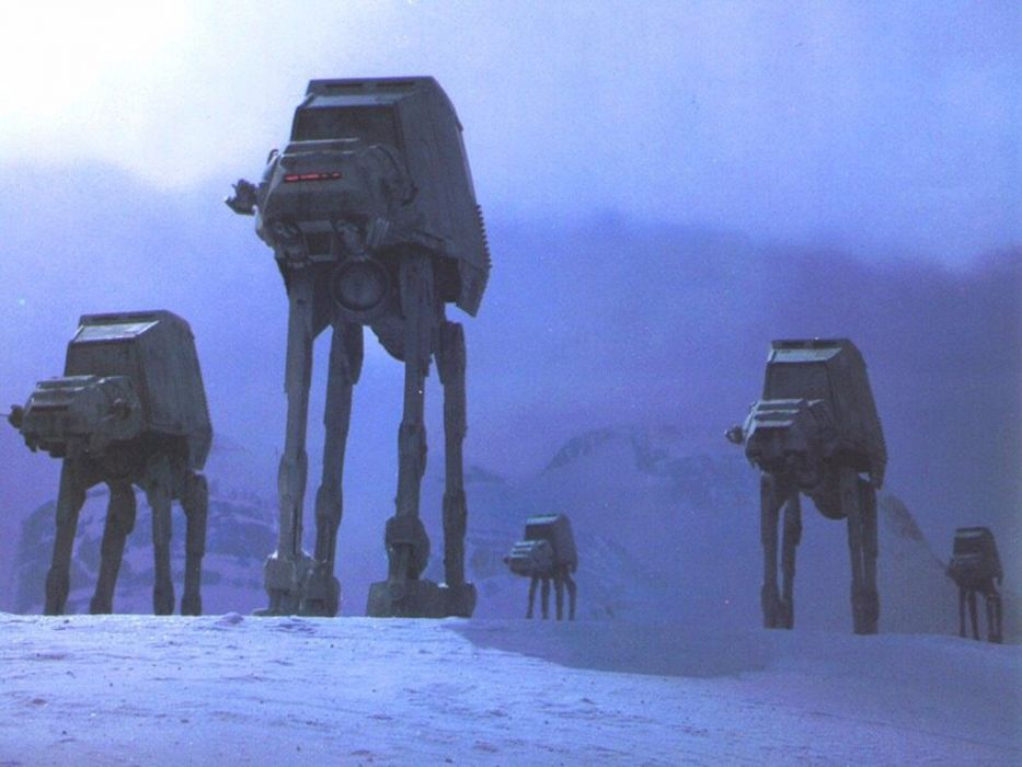 Star Wars Hoth AT-AT wallpaper