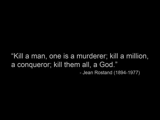text quotes Jean Rostand wallpaper