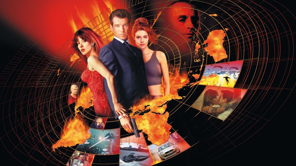 Sophie Marceau James Bond Denise Richards Pierce Brosnan wallpaper