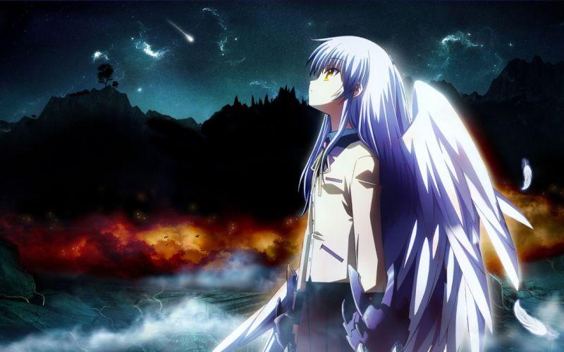 Angel Beats! Tachibana Kanade anime manga anime girls wallpaper