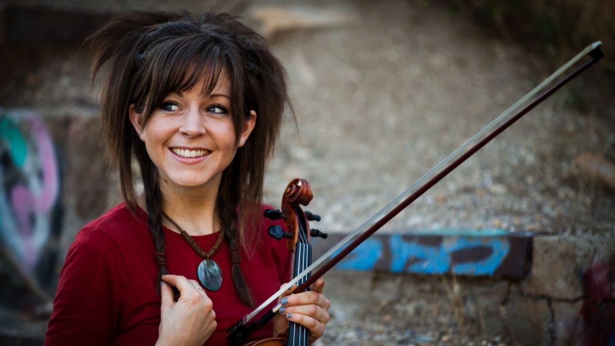 music violins Lindsey Stirling wallpaper