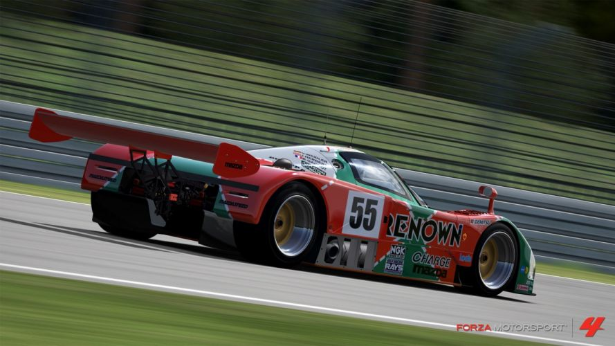 video games cars Xbox 360 Forza Motorsport 4 Mazda 787B wallpaper