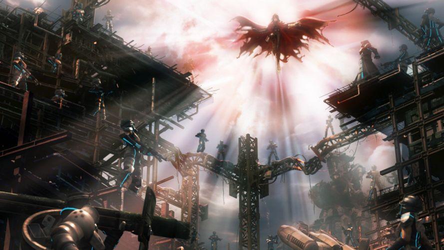 Final Fantasy VII fantasy future Vincent Valentine wallpaper
