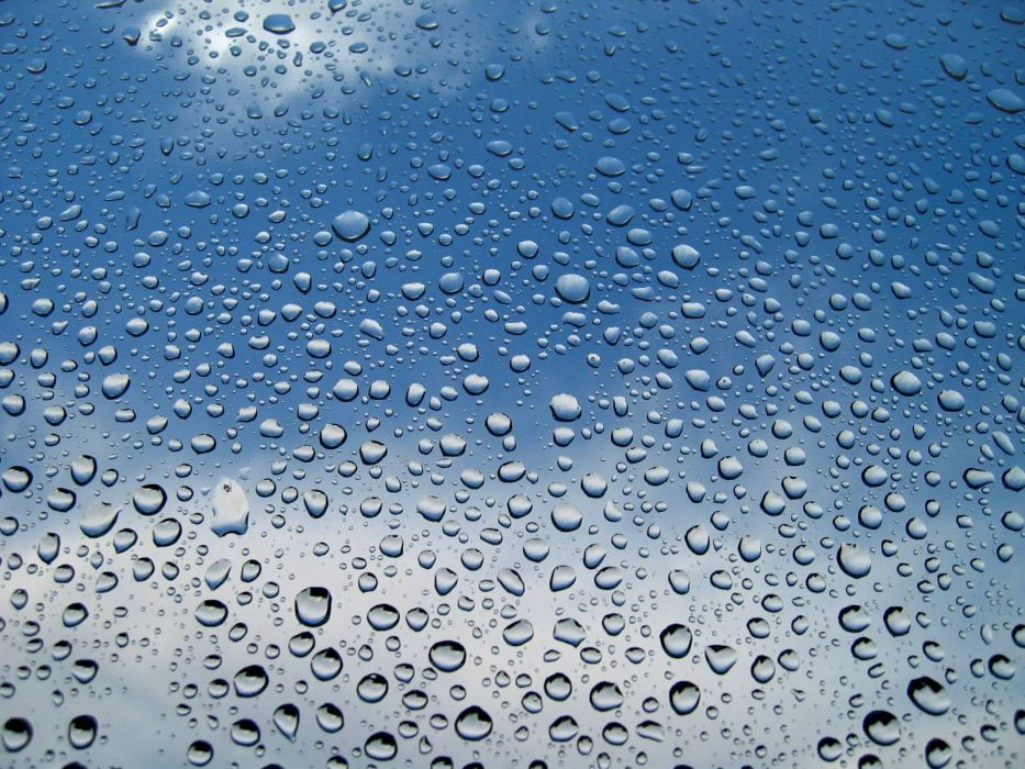 water water drops window panes skyscapes wallpaper